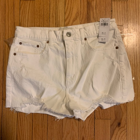 Abercrombie High Rise Mom Shorts